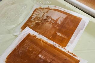 古典写真技法ワークショップ 鶏卵紙の特徴 アニュアルギャラリー